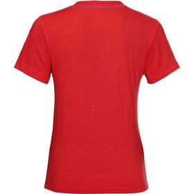Jack Wolfskin Brand Maglietta Bambino, rosso